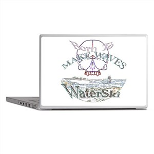 Born to water ski Laptop Skins