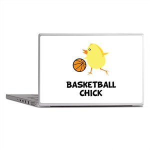 Basketball Chick Laptop Skins