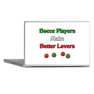 Bocce players make better lovers. Laptop Skins