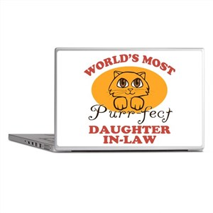 One Purrfect Daughter-In-Law Laptop Skins