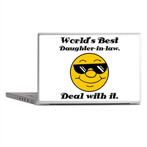 World's Best Daughter-In-Law Humor Laptop Skins