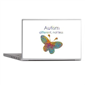 Autism: different, not less Laptop Skins