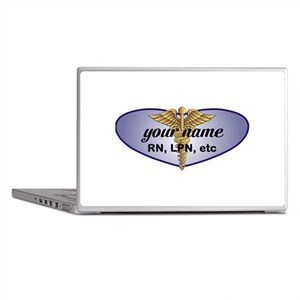 Personalized Nurse Laptop Skins