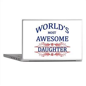 World's Most Awesome Daughter Laptop Skins