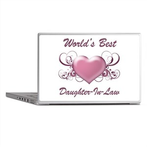 World's Best Daughter-In-Law (Heart) Laptop Skins