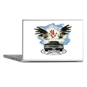 supernatural destinies road Laptop Skins