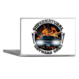 Supernatural Wayward Sons silver Laptop Skins