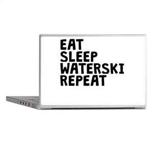 Eat Sleep Waterski Repeat Laptop Skins