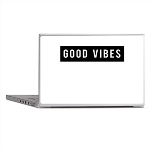 Good Vibes Laptop Skins