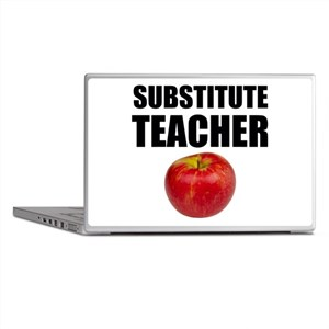 Substitute Teacher Laptop Skins