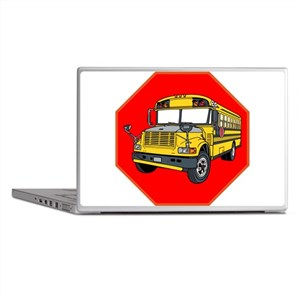 School Bus Driver Laptop Skins