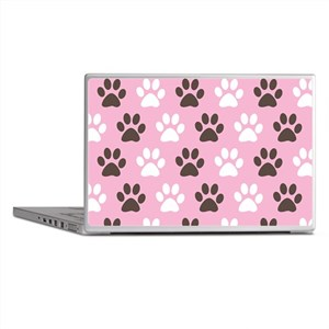 Paw Print Pattern Laptop Skins