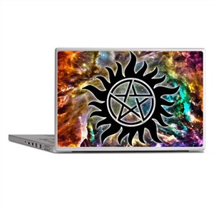 Supernatural Cosmos Laptop Skins