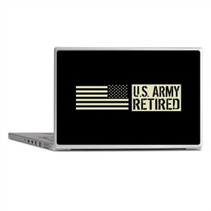 U.S. Army: Retired (Black Flag) Laptop Skins