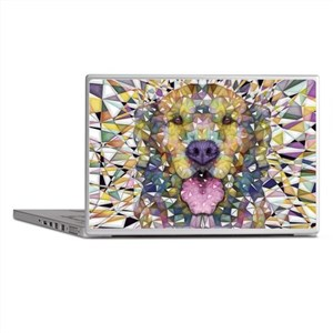 Rainbow Dog Laptop Skins