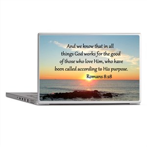 ROMANS 8:28 Laptop Skins
