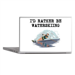 Id Rather Be Waterskiing Laptop Skins
