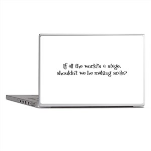 World's a Stage Laptop Skins