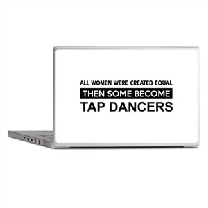 tap created equal designs Laptop Skins
