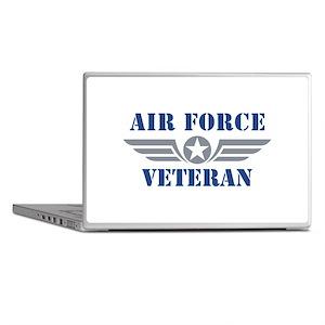 Air Force Veteran Laptop Skins