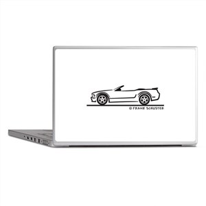 New Ford GT Mustang Convertib Laptop Skins