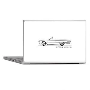 1966 Ford Thunderbird Convert Laptop Skins