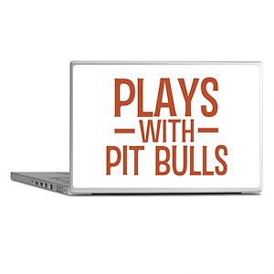 PLAYS Pit Bulls Laptop Skins