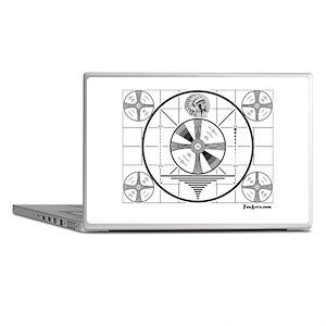 TV Test Pattern Laptop Skins