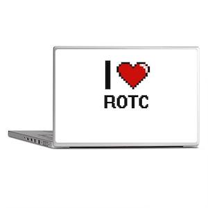 I Love Rotc Digital Design Laptop Skins