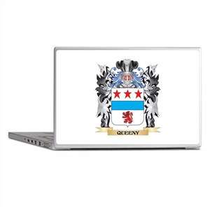 Queeny Coat of Arms - Family Crest Laptop Skins