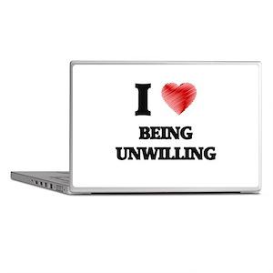 being unwilling Laptop Skins
