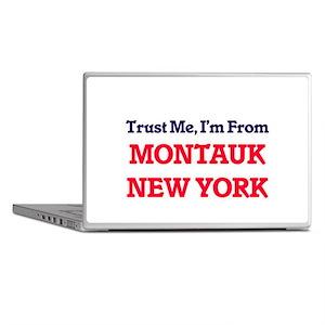 Trust Me, I'm from Montauk New York Laptop Skins