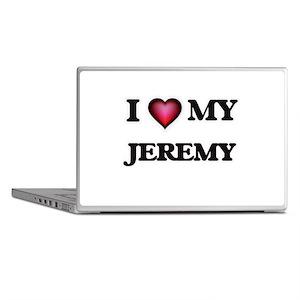 I love Jeremy Laptop Skins
