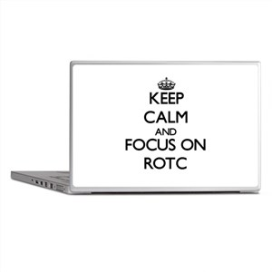 Keep Calm and focus on Rotc Laptop Skins