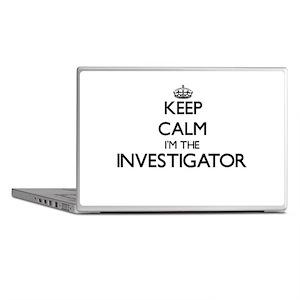 Keep calm I'm the Investigator Laptop Skins