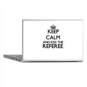 Keep calm and kiss the Referee Laptop Skins