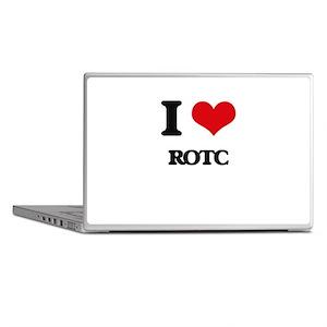 I Love Rotc Laptop Skins