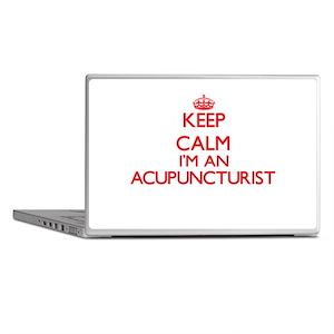 Keep calm I'm an Acupuncturist Laptop Skins