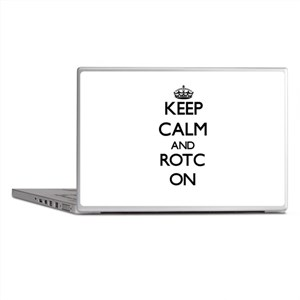 Keep Calm and Rotc ON Laptop Skins