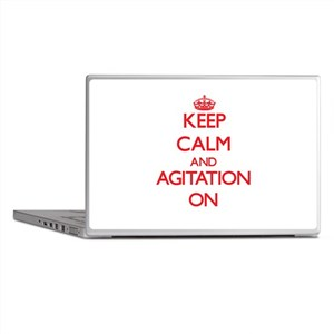Keep Calm and Agitation ON Laptop Skins