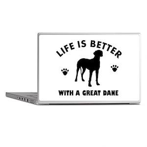 Great Dane breed Design Laptop Skins