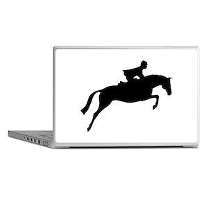 h/j horse & rider Laptop Skins