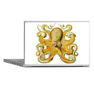 Yellow Octopus Laptop Skins