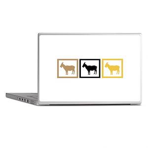 Goat Squares Laptop Skins