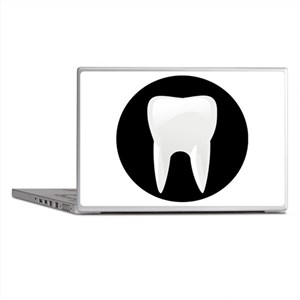 Tooth Laptop Skins