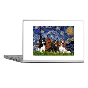 Starry / 4 Cavaliers Laptop Skins