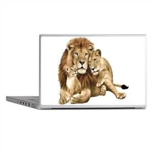Lion And Cubs Laptop Skins