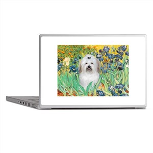 Irises / Coton Laptop Skins