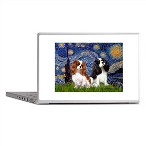 Starry Cavalier Pair Laptop Skins
