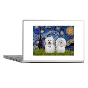Starry / Coton Pair Laptop Skins